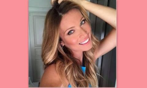 Γεννά η Μαριέττα Χρουσαλά  - Η φωτό στο instagram λίγο πριν έρθει το τρίτο μωρό
