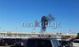 Κρήτη: «Συναγερμός» στο αεροδρόμιο Ηρακλείου εξαιτίας... διαρροής (pics)