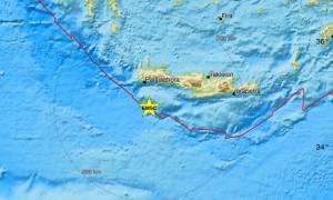 Σεισμός ΤΩΡΑ: «Ταρακουνήθηκε» η Κρήτη