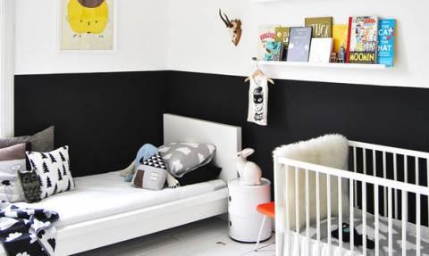 Μωρό και μεγαλύτερο παιδί στο ίδιο δωμάτιο; 40 υπέροχες ιδέες διακόσμησης