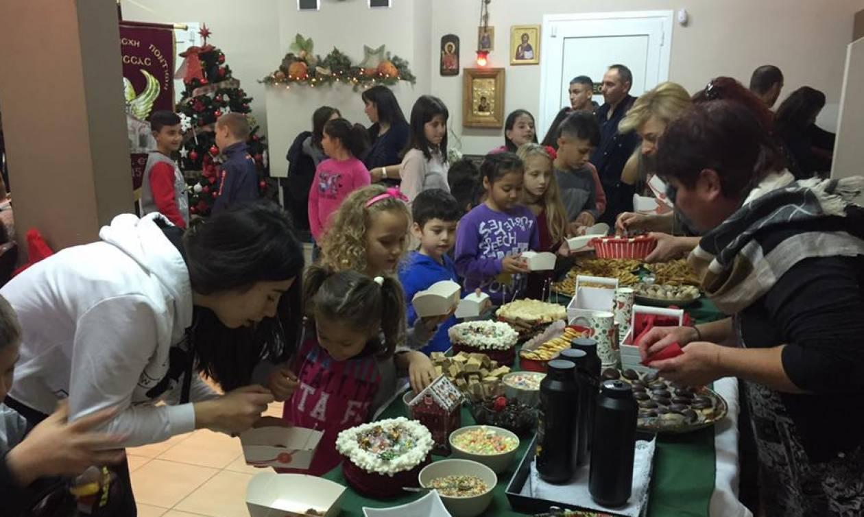 Η Εύξεινος Λέσχη Χαρίεσσας συνεχίζει για 5η εβδομάδα τις Χριστουγεννιάτικες δράσεις (pics)