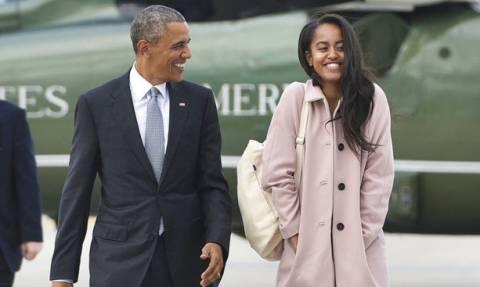 Η νέα φωτογραφία της Malia Obama που θα βγάλει τον Barack εκτός εαυτού