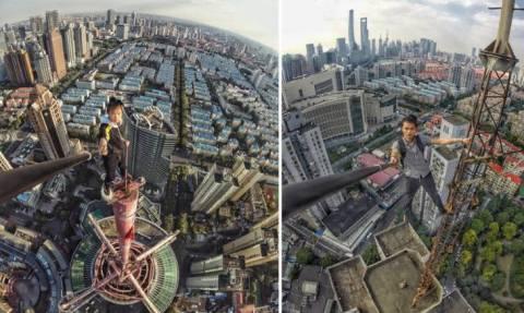 Ποιος φταίει για το δραματικό θάνατο του Κινέζου rooftopper; (vid)