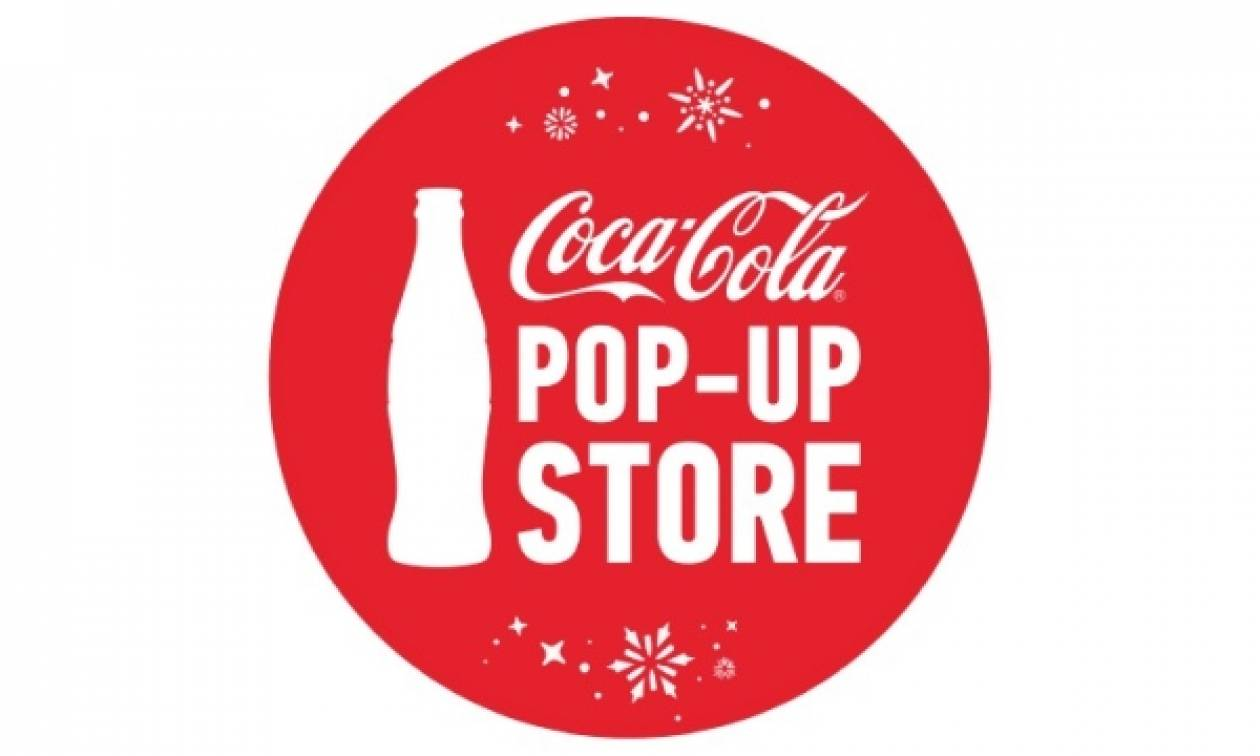 Tο Coca-Cola Pop-Up Store υποδέχεται τα Χριστούγεννα στο Golden Hall!