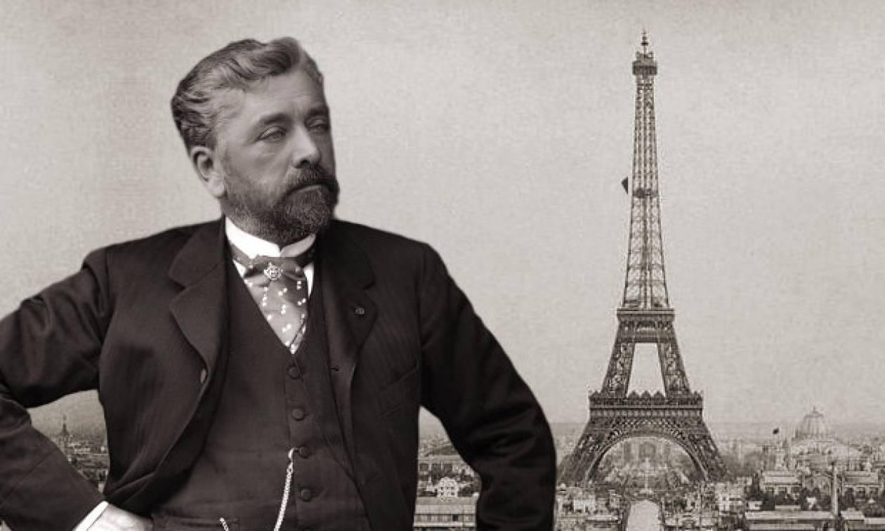 Σαν σήμερα το 1832 γεννήθηκε ο μηχανικός που σχεδίασε και ύψωσε τον πύργο του Άιφελ