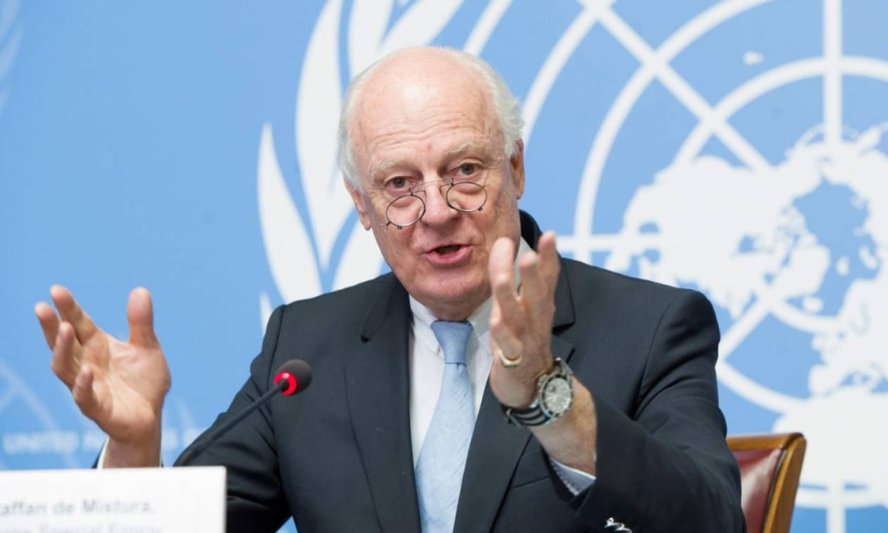 Συρία: Ο απεσταλμένος του ΟΗΕ υπονόμευσε τη θέση του με έκκληση προς τη Ρωσία
