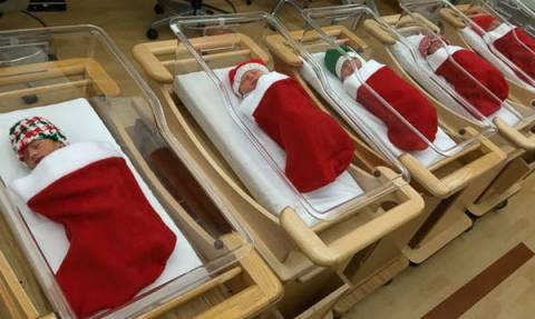 Τριάντα ασυνήθιστοι χριστουγεννιάτικοι στολισμοί σε νοσοκομεία