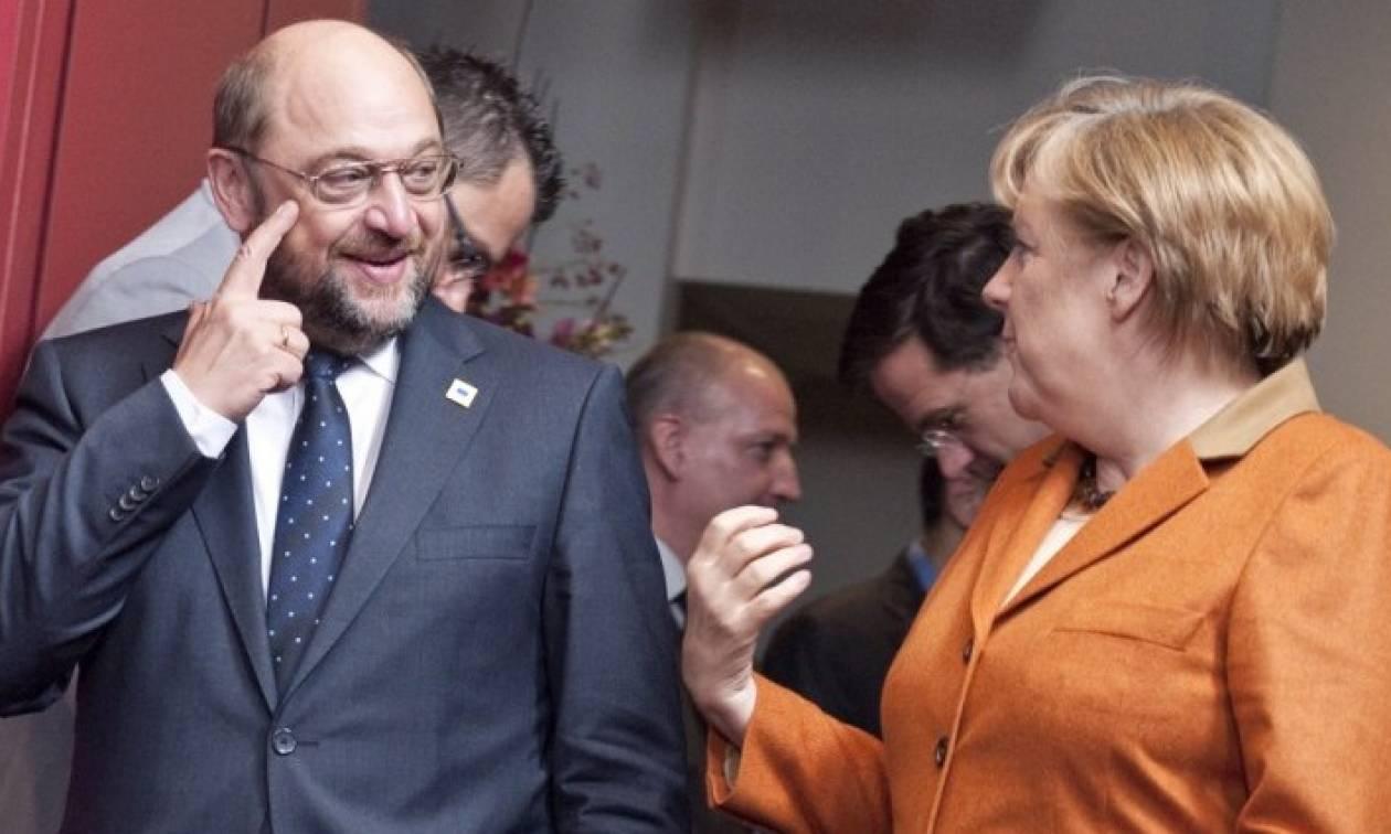 Γερμανία: Ένα βήμα πιο κοντά σε κυβέρνηση συνεργασίας Μέρκελ - Σουλτς