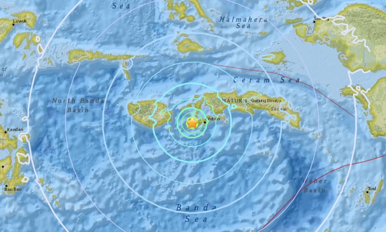 Φονικός σεισμός χτύπησε την Ινδονησία - Πληροφορίες για νεκρούς και κατάρρευση κτηρίων (Pics+Vid)