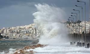 Καιρός ΕΜΥ: Καταιγίδες και θυελλώδεις νοτιάδες το Σαββατοκύριακο - Αναλυτική πρόγνωση