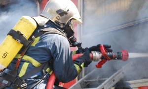 Συναγερμός για φωτιά στο κέντρο της Αθήνας