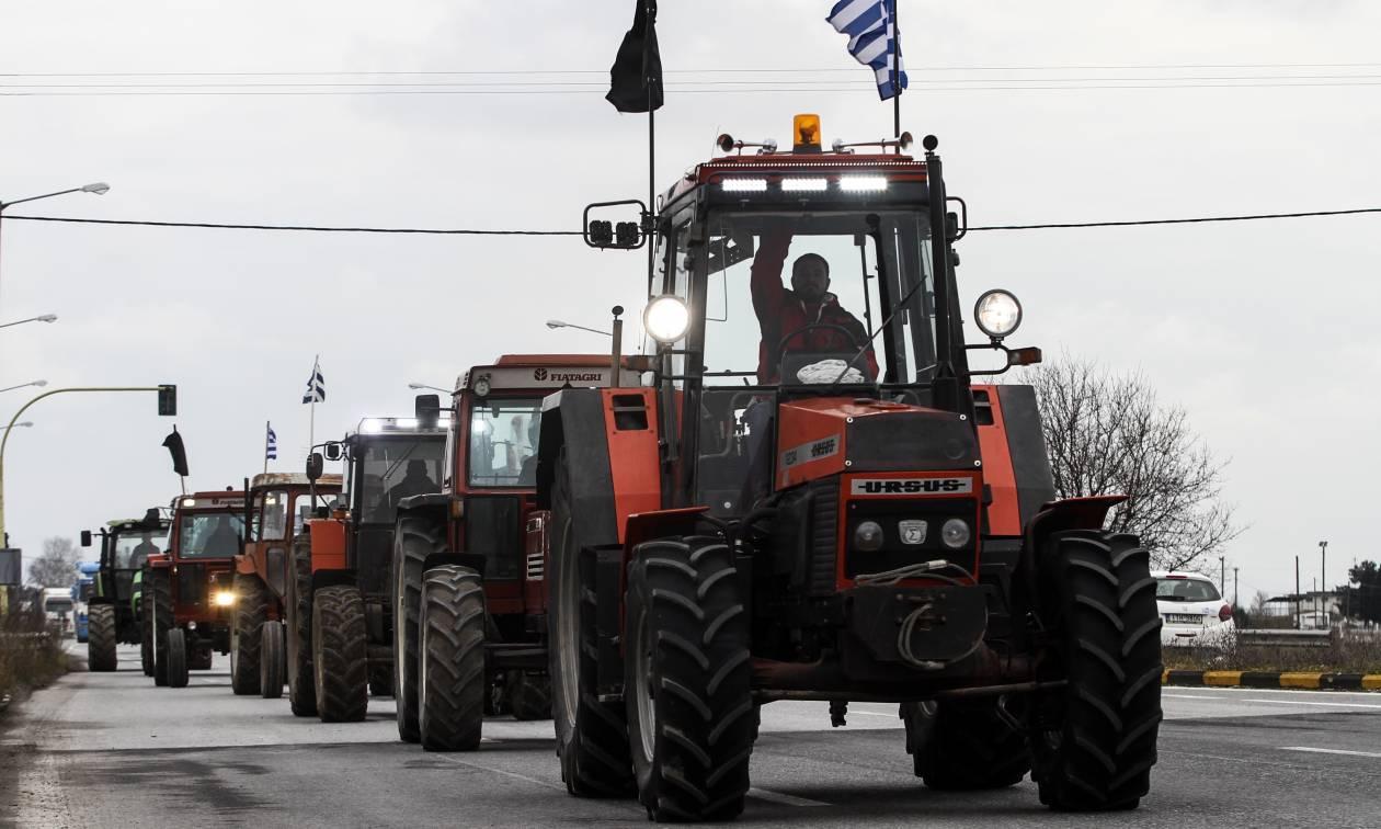 Τύρναβος: Κινητοποίηση των αγροτών της Λάρισας