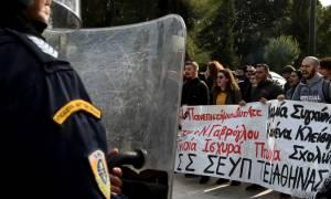 Ζάππειο: Ένταση μεταξύ φοιτητών και ΜΑΤ