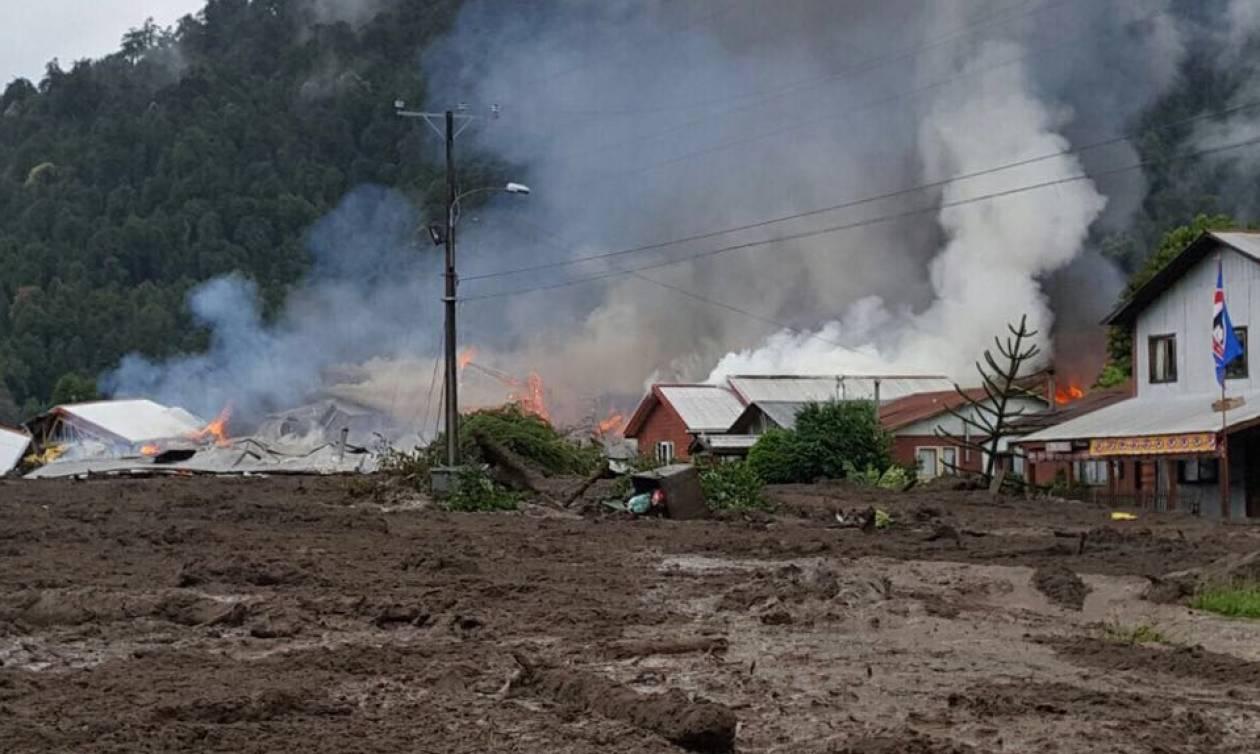 Τραγωδία στη Χιλή: Κατολίσθηση λάσπης «έπνιξε» ένα ολόκληρο χωριό - Δείτε φωτογραφίες
