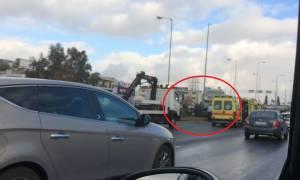 Τροχαίο - ΣΟΚ στην Εθνική Οδό Αθηνών - Λαμίας (εικόνες και βίντεο)