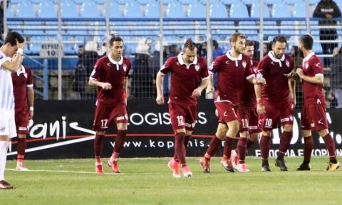 Λαμία-ΑΕΛ 0-2: Μεγάλο «διπλό» με Τέλεσιτς!