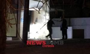 Ισχυρή έκρηξη χειροβομβίδας στη Λευκωσία - Ένας τραυματίας (vid)