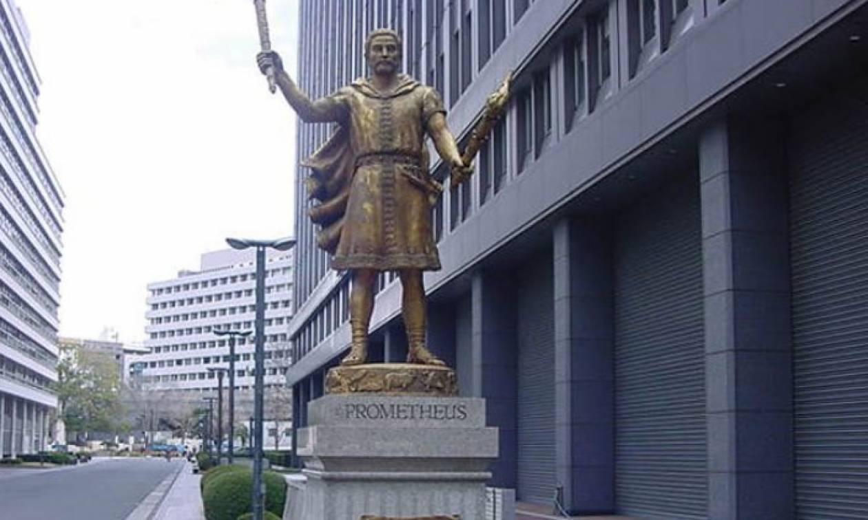 Άγαλμα του Προμηθέα στο Τόκιο (pics)