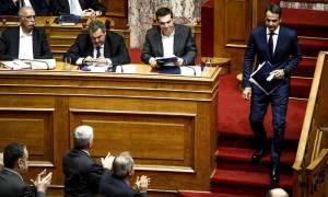 Βουλή: Μονομαχία Τσίπρα-Μητσοτάκη την Τρίτη (19/12) με «φόντο» τον προϋπολογισμό