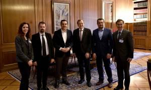 Τι συζήτησε ο Αλέξης Τσίπρας με τον επικεφαλής του ESA