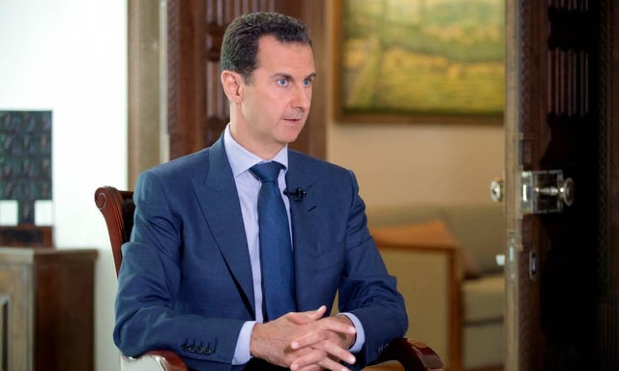 Μπασάρ αλ Άσαντ: Η γαλλική κυβέρνηση «στηρίζει την τρομοκρατία»