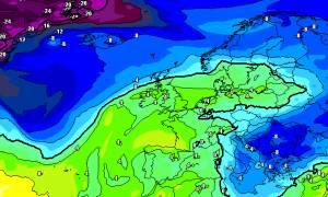 Εκτακτο: Χριστούγεννα με χιόνια και στην Αθήνα; Τα τελευταία προγνωστικά δεδομένα (photos)