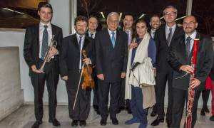 Eπίσημα εγκαίνια αίθουσας Άρης Γαρουφαλής του Ωδείου Αθηνών