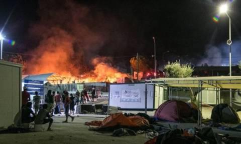 Fifteen migrants hospitalized after violent fighting at Moria hotspot on Mytilene