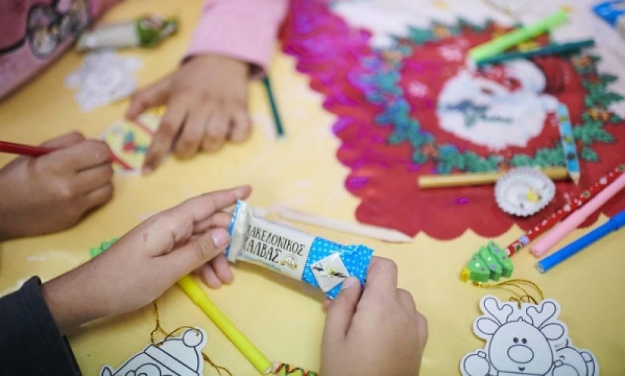 Ο Μακεδονικός Χαλβάς, στηρίζει το Χατζηκυριάκειο Ίδρυμα Παιδικής Προστασίας