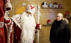 Σκληρή «μάχη» στα social media ανάμεσα στον Πούτιν και τον «Παππού Χιονιά»