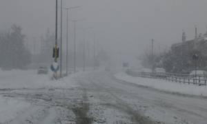 Κακοκαιρία: Συστάσεις προς τους οδηγούς ενόψει του χιονιά