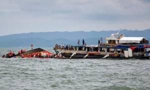 Στους 4 οι νεκροί και δεκάδες οι αγνοούμενοι από το ναυάγιο στις Φιλιππίνες