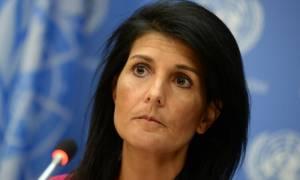 Νέες απειλές των ΗΠΑ στον ΟΗΕ για την Ιερουσαλήμ: «Θα τη θυμόμαστε αυτή τη μέρα»