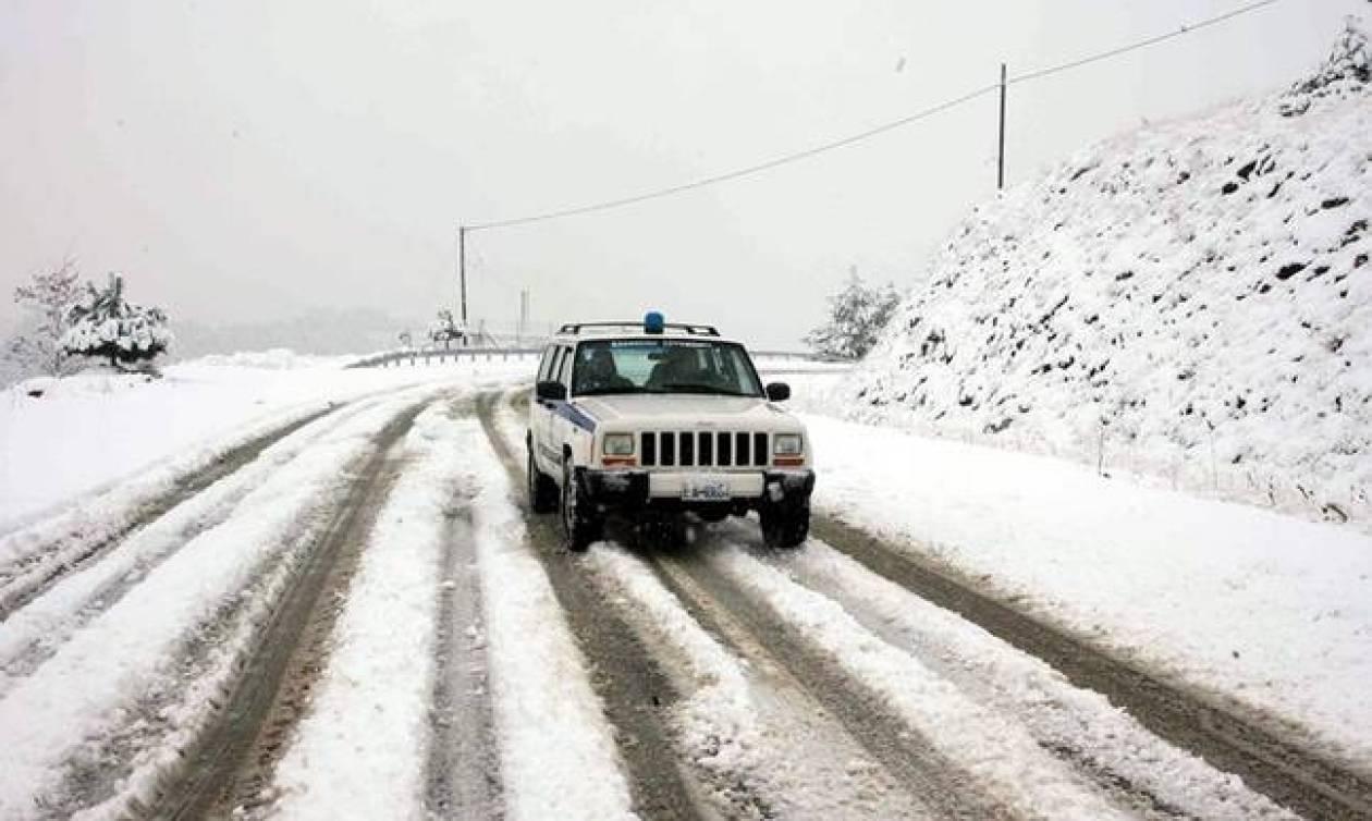 Kακοκαιρία: Ποιοι δρόμοι είναι κλειστοί - Πού χρειάζονται αντιολισθητικές αλυσίδες