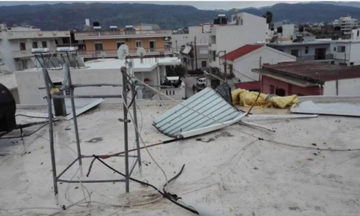 Τρόμος στα Χανιά από έκρηξη θερμοσίφωνα (pics)