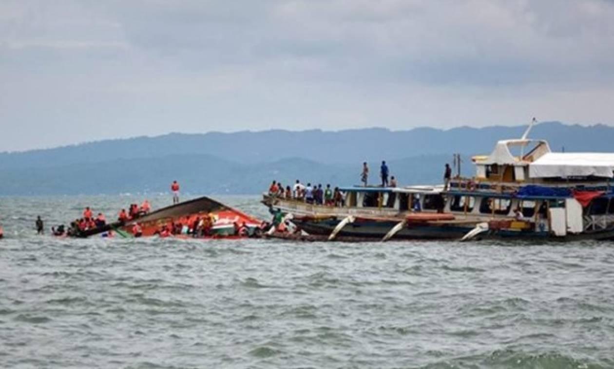 Πέντε οι νεκροί από το ναυάγιο στις Φιλιππίνες