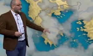 Πού θα συνεχιστούν οι χιονοπτώσεις Παρασκευή και Σάββατο; Η πρόγνωση του Σάκη Αρναούτογλου (video)