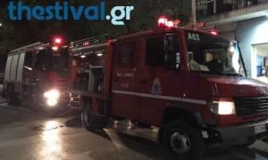 Θεσσαλονίκη: Πυρκαγιά σε πολυκατοικία στη Σίνδο