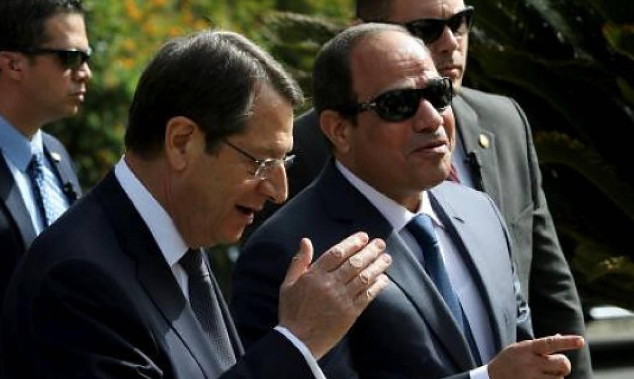 Τηλεφωνική επικοινωνία Αναστασιάδη - Αλ Σίσι: Τι συζήτησαν