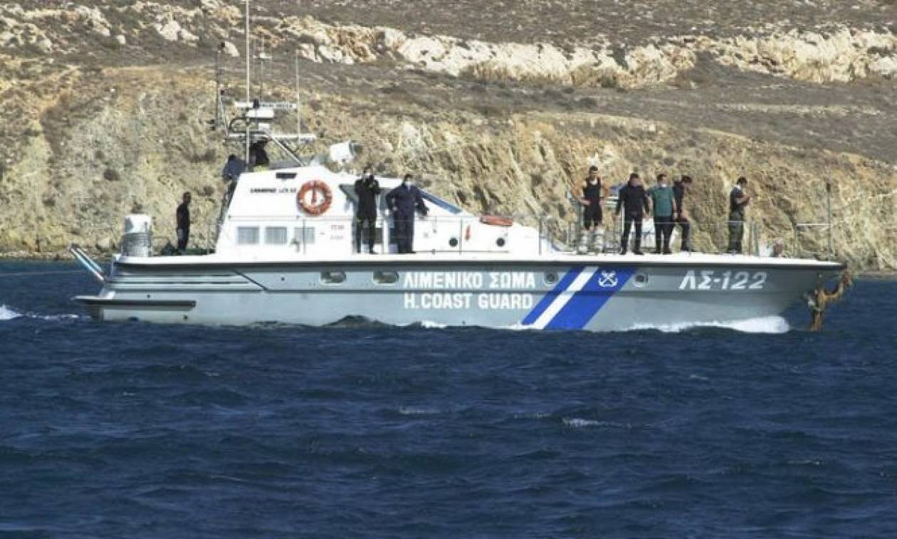 Μύκονος: Προσάραξη πλοίου στο Τραγονήσι