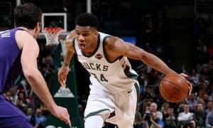 NBA: Έφερε την... ανατροπή στους Μπακς ο Αντετοκούνμπο (pics+vid)
