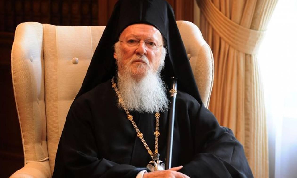 Οικουμενικός Πατριάρχης: Η δύναμη της Εκκλησίας βασίζεται στην αγάπη, στη θυσία και στη χάρη