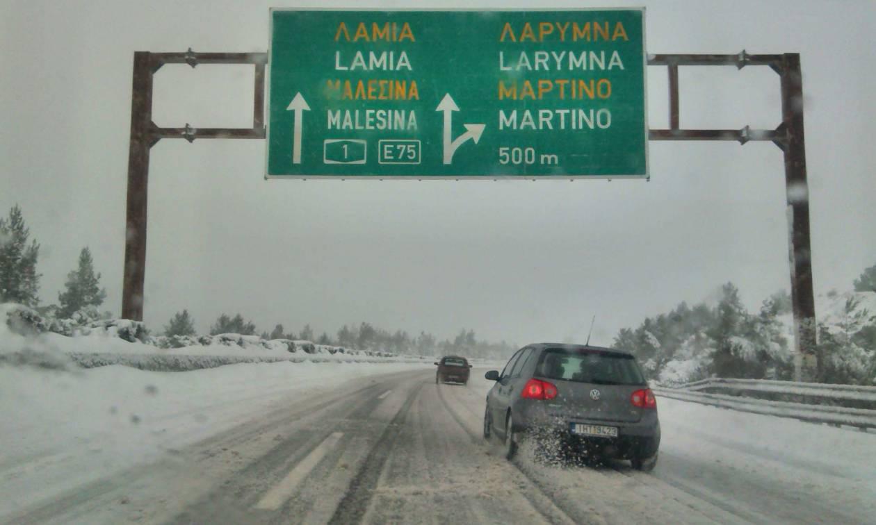 Νέα οδός: Συγγνώμη για την ταλαιπωρία - Γι' αυτό έκλεισε η Αθηνών – Λαμίας