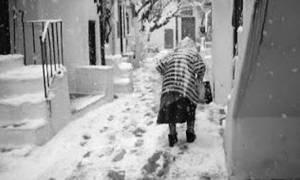 Φονική κακοκαιρία: Προσπάθησε να ζητήσει βοήθεια και θάφτηκε από το χιόνι