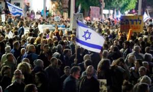 Ισραήλ: Νέα διαδήλωση στο Τελ Αβίβ εναντίον της «διεφθαρμένης» κυβέρνησης