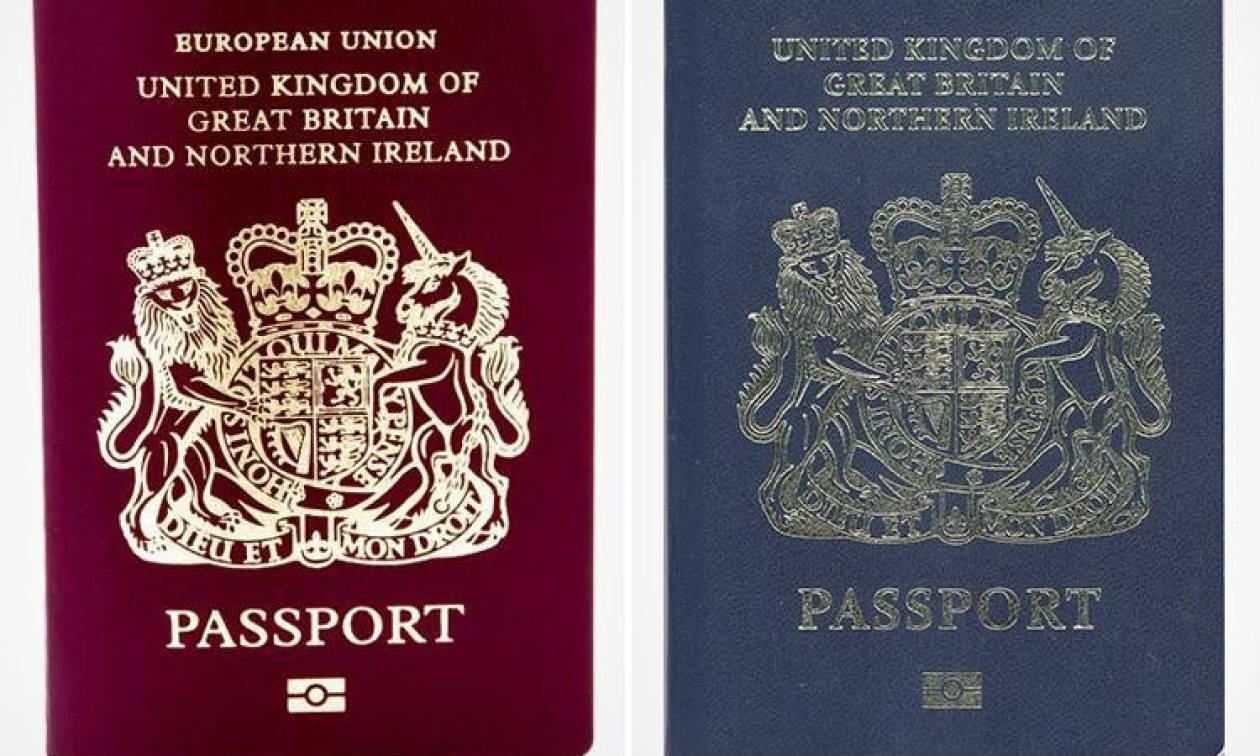 Η ζωή μετά το Brexit: Τα βρετανικά διαβατήρια θα ξαναγίνουν μπλε