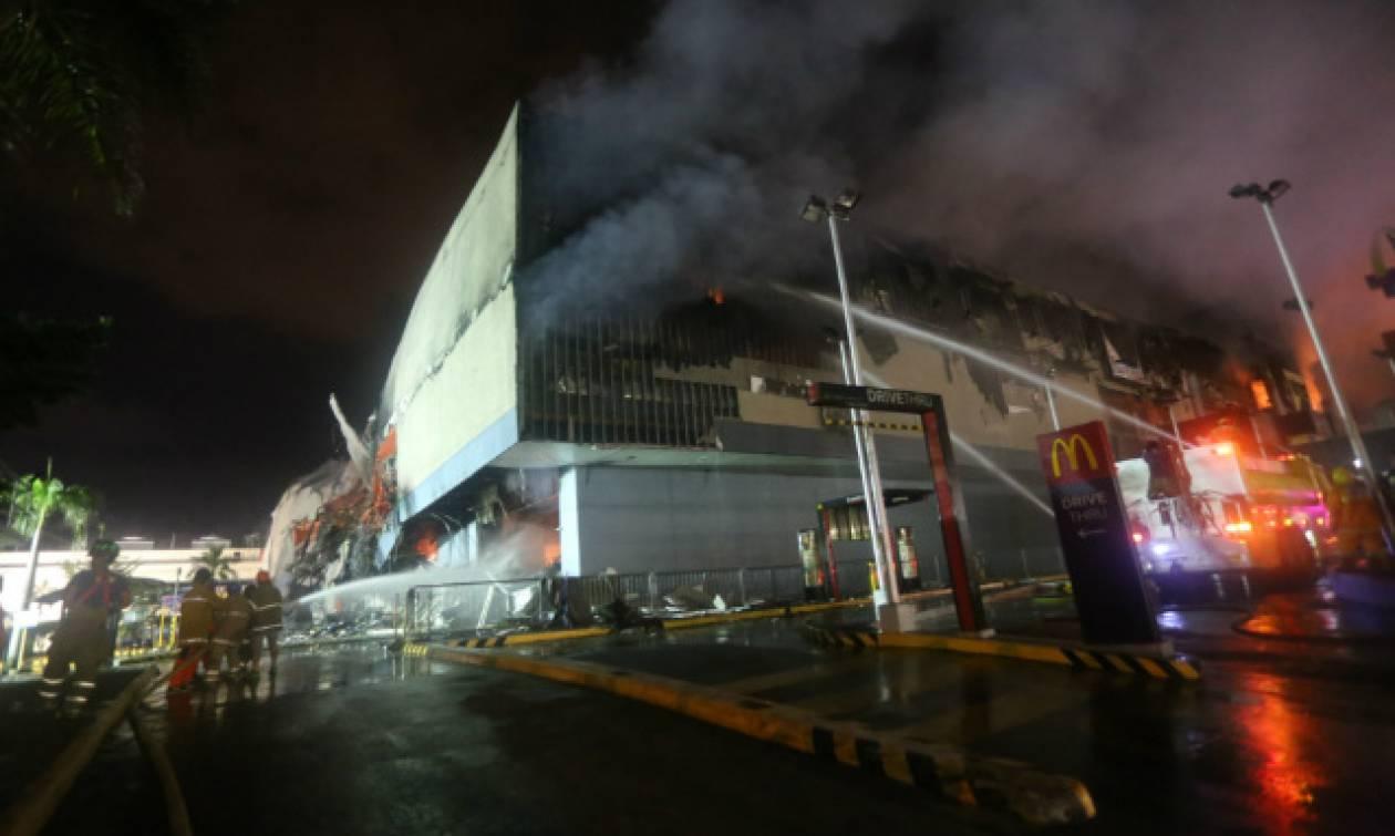 Φιλιππίνες: Φωτιά σε εμπορικό κέντρο - Φόβοι για δεκάδες νεκρούς (pics+vid)