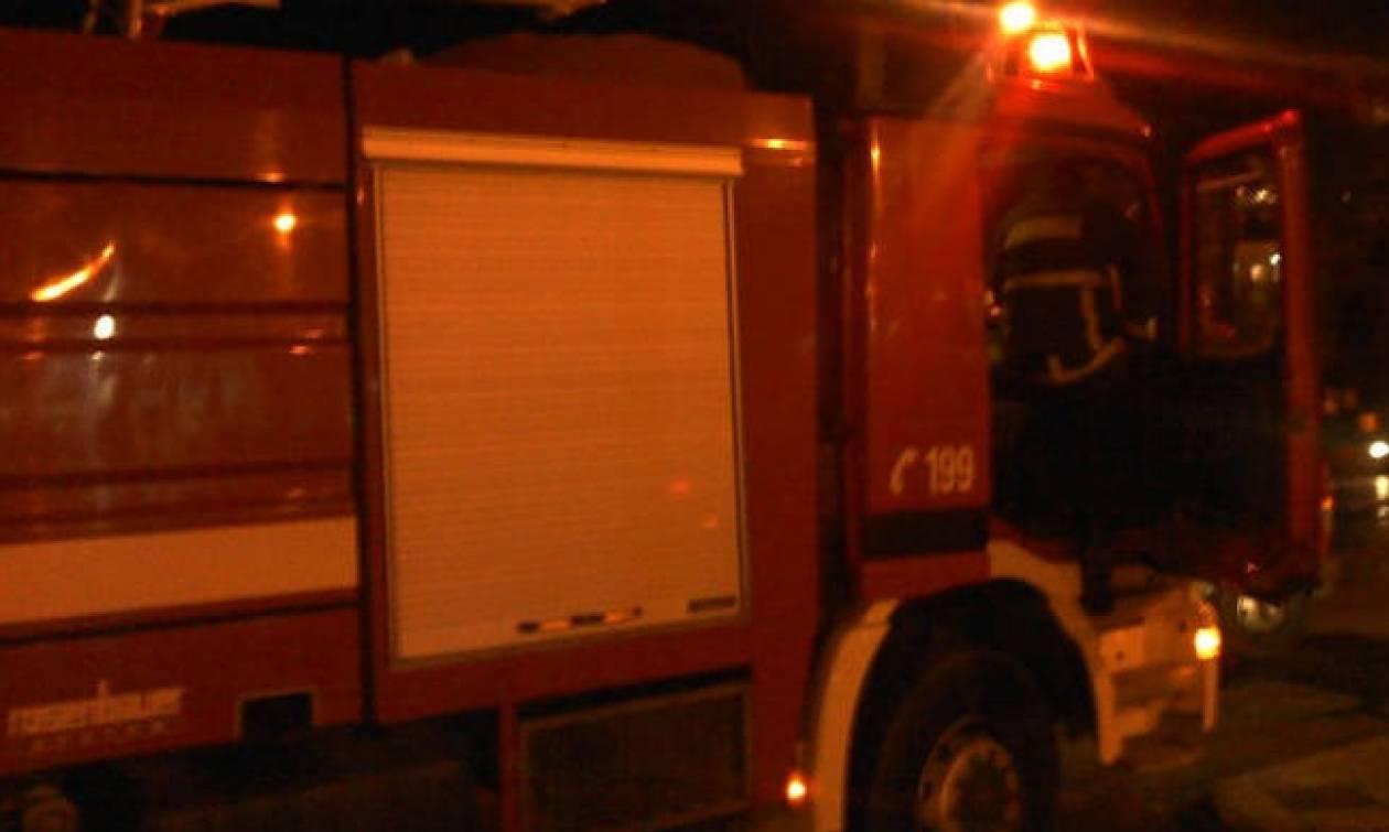 Λάρισα: Στις φλόγες σπίτι στο Μόδεστο