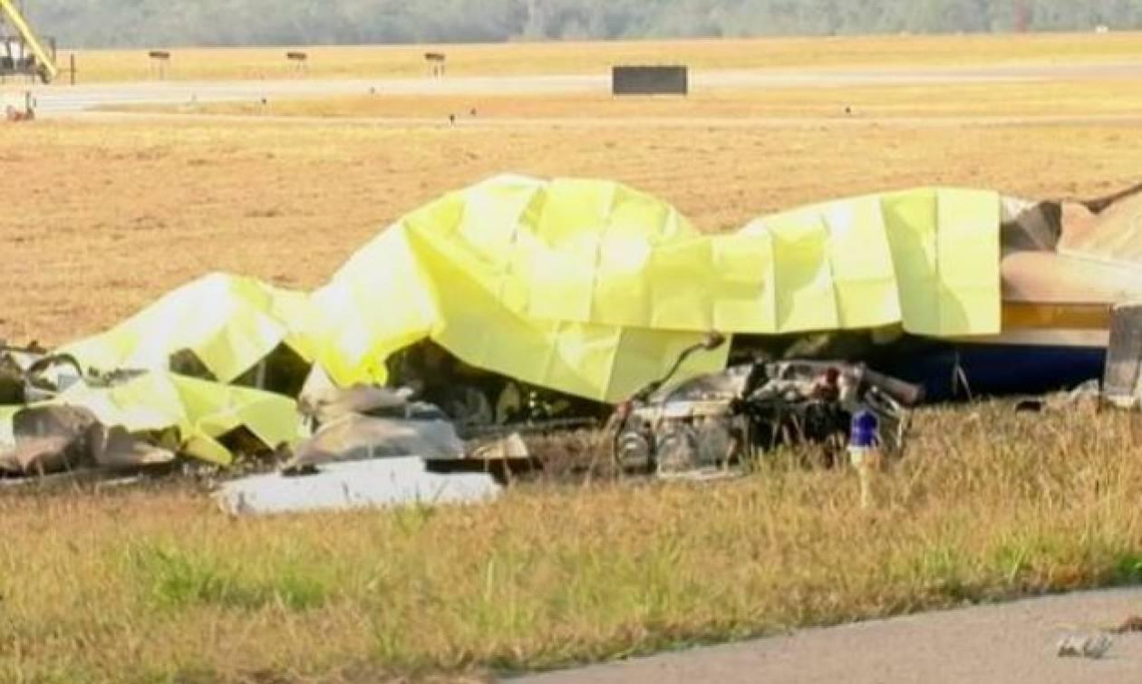 Οικογενειακή τραγωδία: Πέντε νεκροί από πτώση αεροσκάφους (pics)