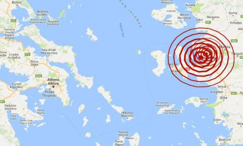Light quake jolts Mytilene and Chios